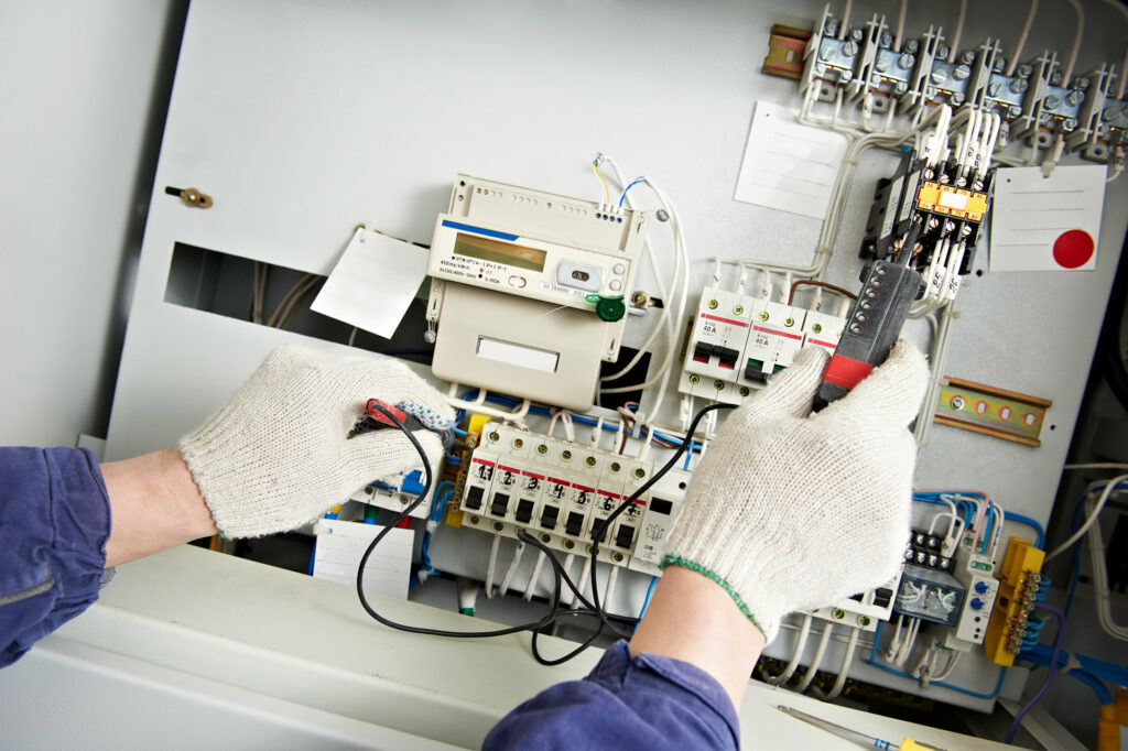 electrical testing being done in Perth