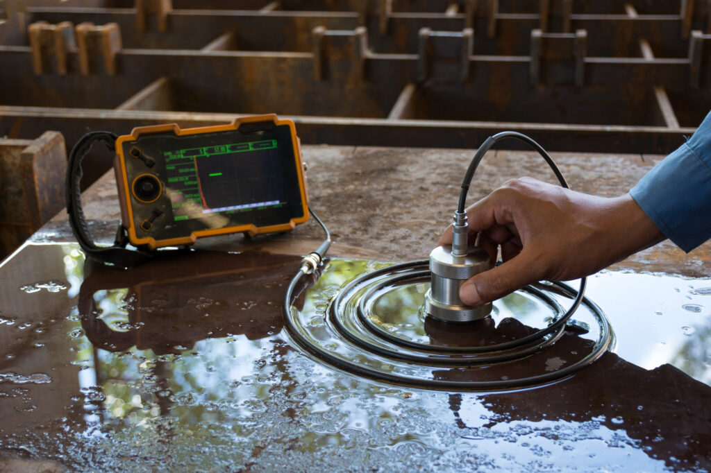 electrical ultrasonic test